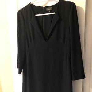 ARITZIA TALULA BABATON BLACK DRESS